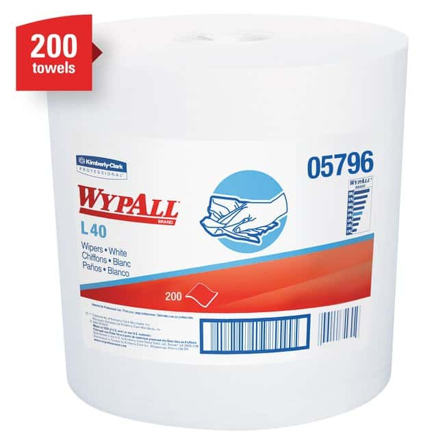 Kimberly-Clark Professional WypAll L40 Towels 10 x 13.2 in.:Gloves, Glasses