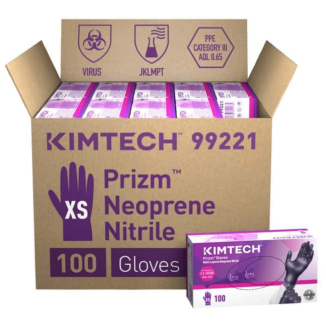 Kimberly-Clark™ Kimtech™ Prizm™ Multi Layered Gloves, 24 cm, Ambidextrous, Dark Violet/Dark Magenta: Home
