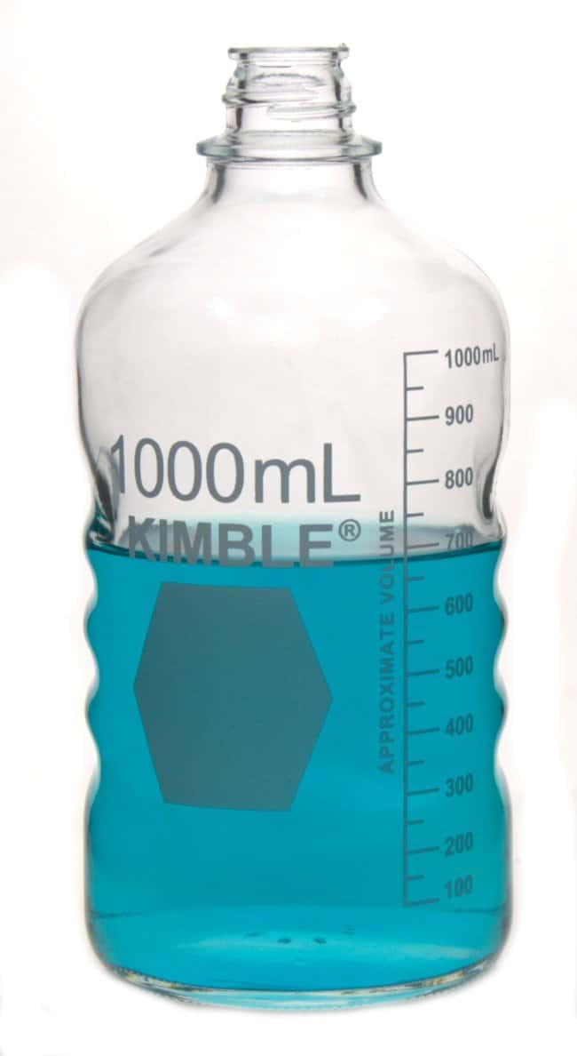 DWK Life Sciences Kimble™ KIMAX™ Media Bottles — Graduated
