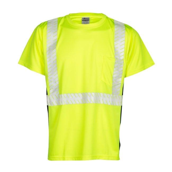 Kishigo Premium Black Series Short Sleeve T-Shirt Size: 2X; Color: Lime;