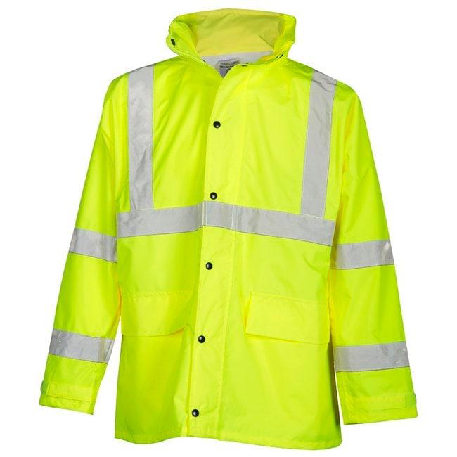 Kishigo Rainwear Set Color: Lime; Size: Small to Medium:Gloves, Glasses