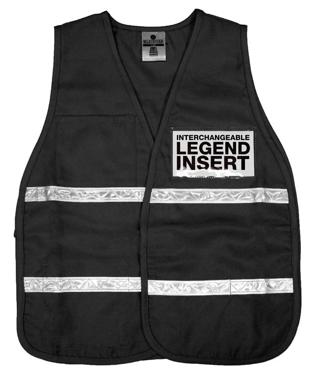 ML Kishigo 3700 Series Incident Command Vest Black:Gloves, Glasses and