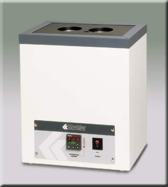 Koehler Instrument Four-Unit Solid Block Oxidation Bath:Incubators, Hot