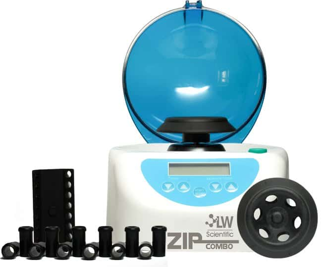 LW Scientific ZipCombo Centrifuge with 6 Place Microtube Rotor :Centrifuges