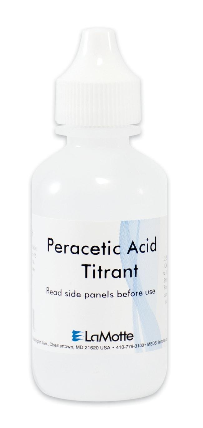LaMottePeracetic Acid Titrant (Sodium Thiosulfate, 0.1N), Lamotte Titrant;