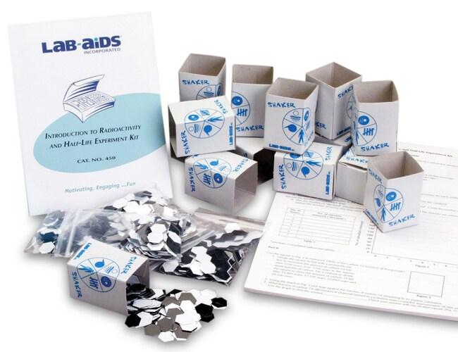 Lab-Aids Introduction to Radioactivity and Half Life Kit  Radioactivity
