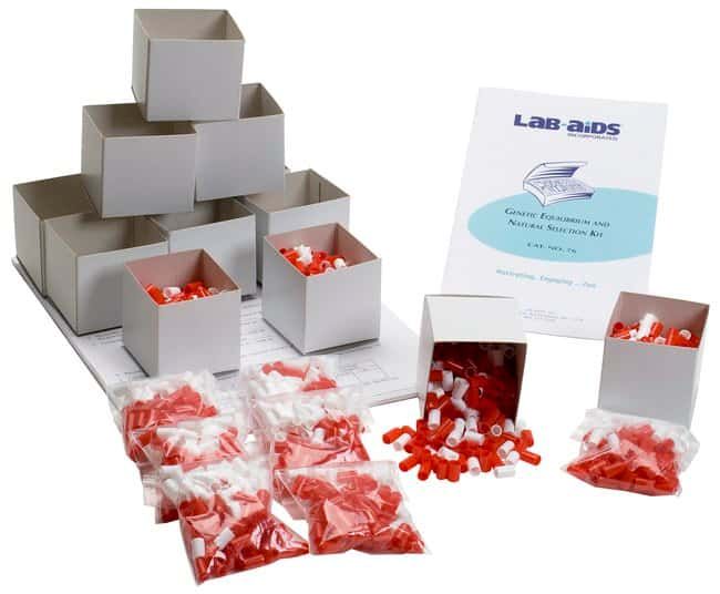 Lab-Aids Genetic Equilibrium and Natural Selection  Kit: Genetic Equilibrium