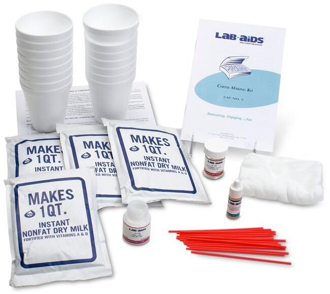 Lab-AidsCheese-Making Kit Cheese Making Kit:Education Supplies