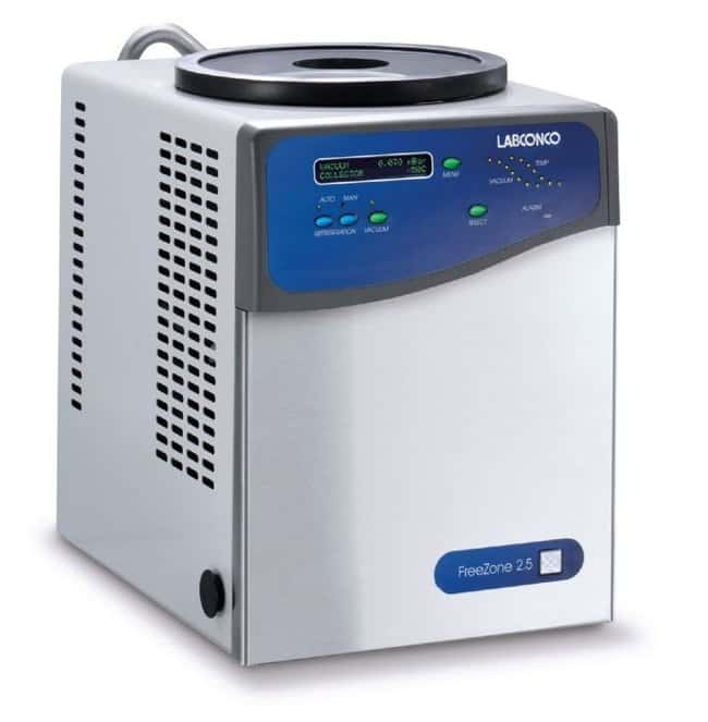 Labconco™Benchtop FreeZone™ Legacy™ Freeze-Dry Systems: 2.5L Capacity 2.5L; Benchtop; w/Stainless-steel coil and collector chamber; International Model; 220/240V 50Hz Labconco™Benchtop FreeZone™ Legacy™ Freeze-Dry Systems: 2.5L Capacity
