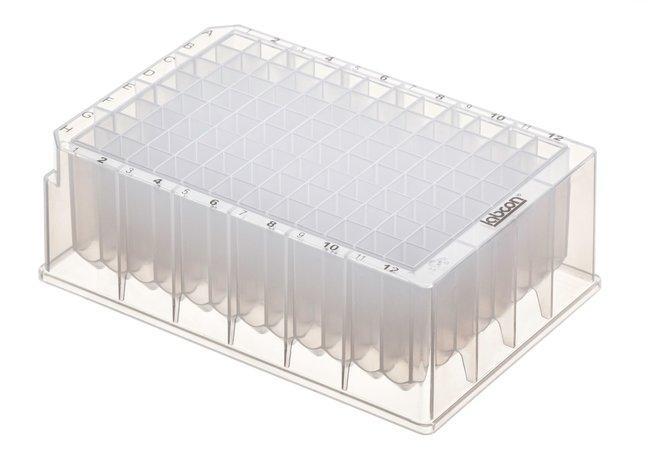 LabconPlaques à 96puits DeepWell PurePlus™, avec puits carrés 2,2ml; stérile voir les résultats