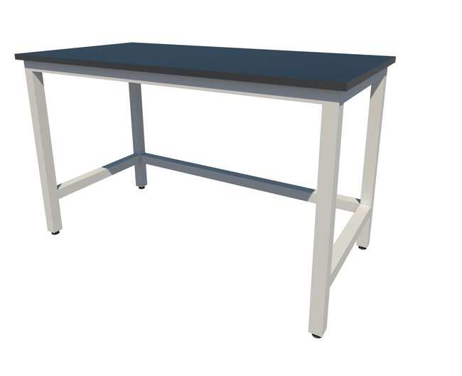 Fisherbrand™ Fixed Height Heavy Duty Steel Table With Epoxy Work Surface  And Leveling Glides