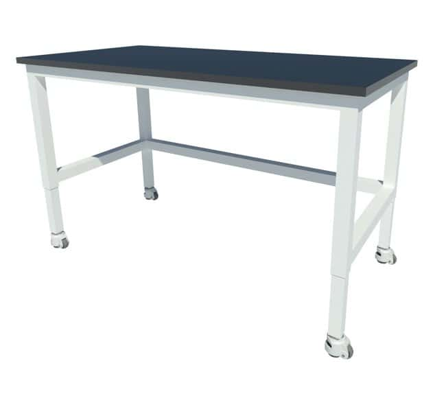 Fisherbrand Adjustable Height Heavy-Duty Steel Table with Epoxy Work Surface