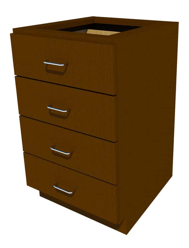 Fisherbrand Standing Height Wood Cabinet, 21 in. Wide:Furniture, Storage,