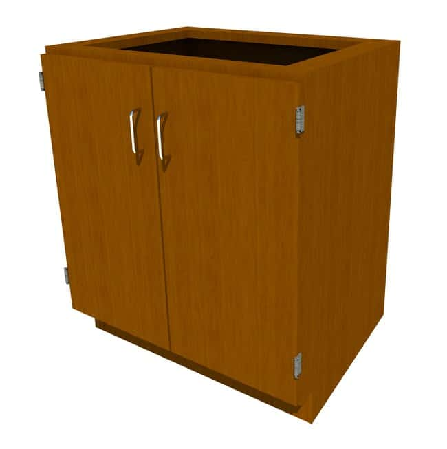 FisherbrandStanding Height Wood Cabinet, 30 in. Wide 2 Door, 30 in. Wide,