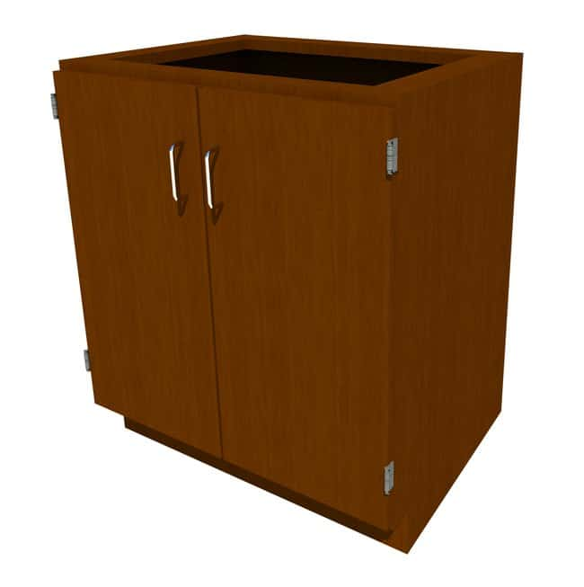 FisherbrandStanding Height Wood Cabinet, 30 in. Wide 2 Door, 30 in. Wide,