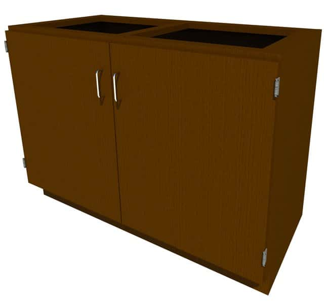 Fisherbrand Standing Height Wood Cabinet, 48 in. Wide:Furniture, Storage,