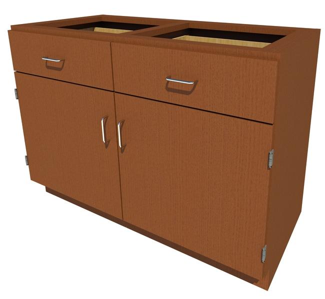 FisherbrandStanding Height Wood Cabinet, 48 in. Wide:Furniture:Storage