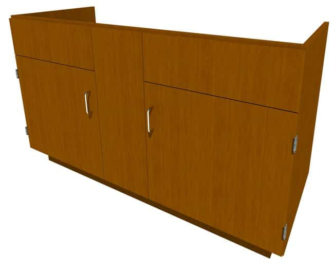 Fisherbrand Standing Height Wood Sink Cabinet:Furniture, Storage, Casework,