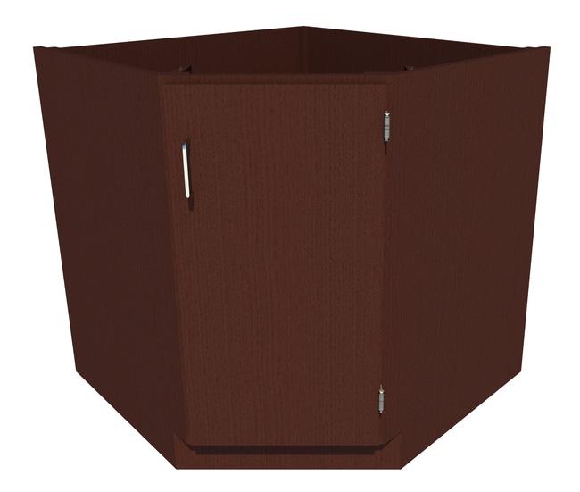 FisherbrandStanding Height Wood Corner/Sink Cabinet 1 Door, 34.25 in. Wide,