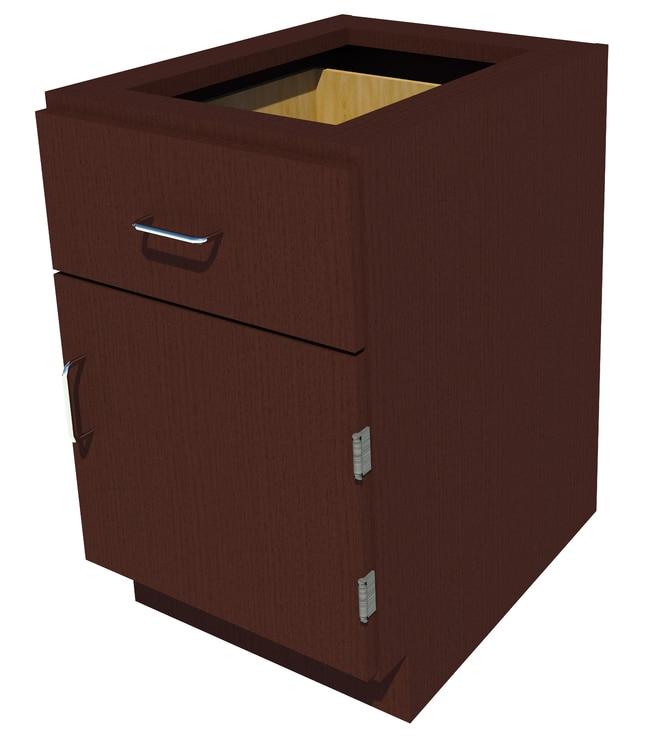 Fisherbrand Sitting Height Wood Cabinet:Furniture, Storage, Casework, Carts