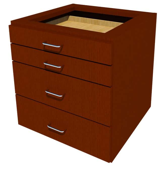 FisherbrandSuspended Wood Cabinet, 24 in. Wide:Furniture:Storage Cabinets