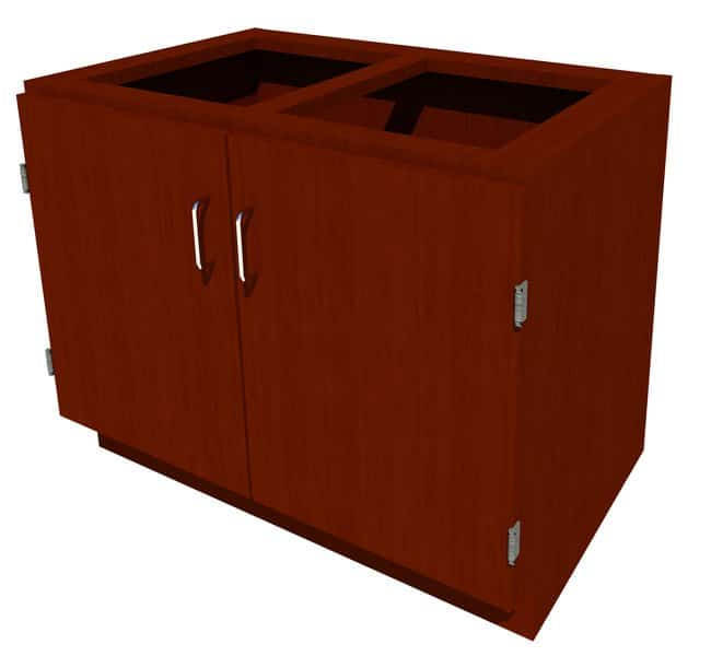 Fisherbrand Sitting Height Wood Cabinet:Furniture, Storage, Casework, Carts