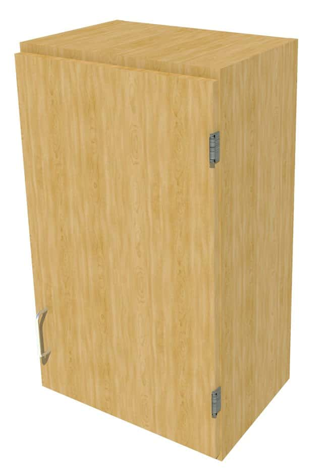 FisherbrandWood Wall Cabinet, 18 in. Wide 1 Solid Door Right Hinged, 18