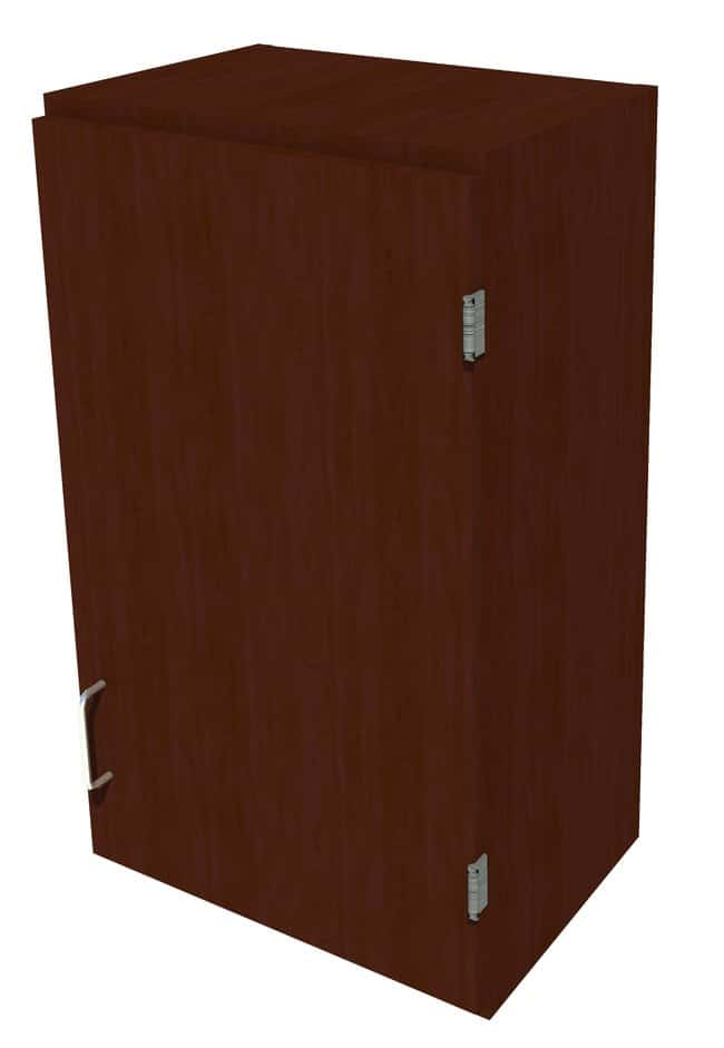 Fisherbrand Wood Wall Cabinet, 18 in. Wide 1 Solid Door Right Hinged, 18