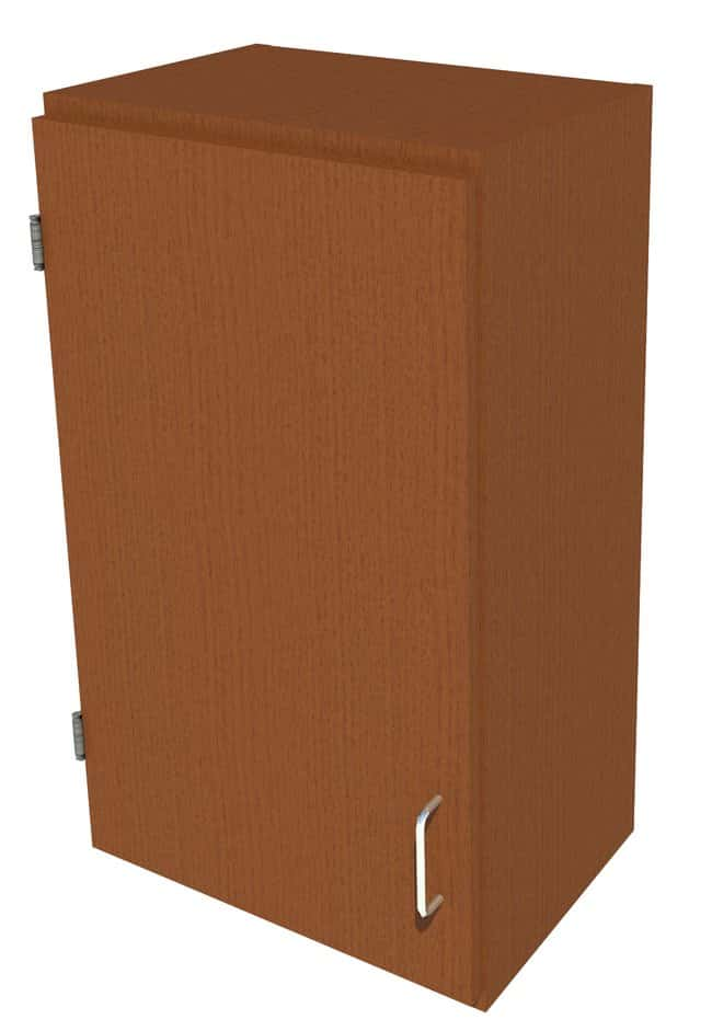 FisherbrandWood Wall Cabinet, 18 in. Wide 1 Solid Door Left Hinged, 18