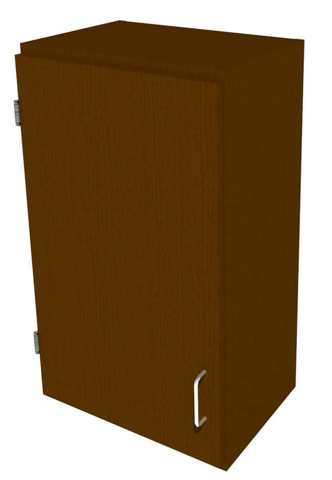 FisherbrandWood Wall Cabinet, 18 in. Wide 1 Solid Door Left Hinged, 18