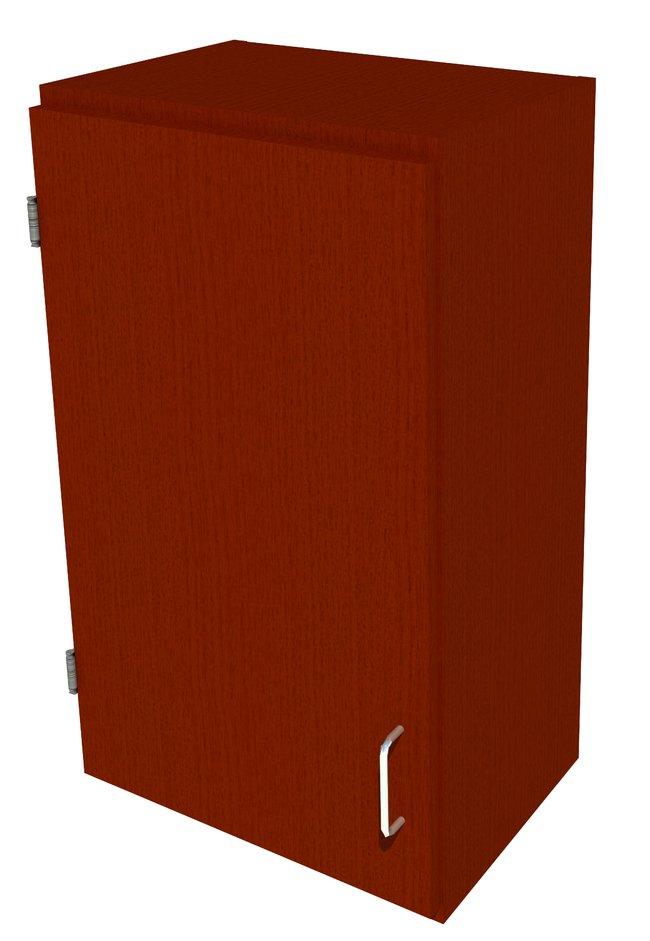 Fisherbrand Wood Wall Cabinet, 18 in. Wide 1 Solid Door Left Hinged, 18