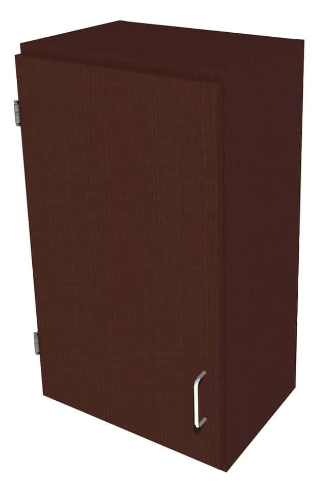 Fisherbrand Wood Wall Cabinet, 18 in. Wide 1 Solid Door Left Hinged, 18
