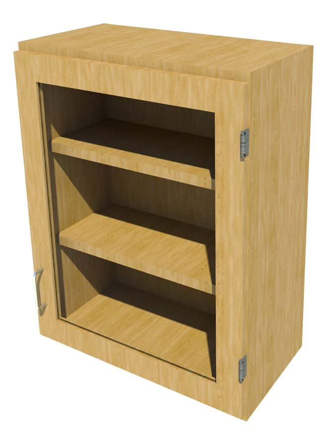 Fisherbrand Wood Wall Cabinet, 24 in. Wide:Furniture, Storage, Casework,