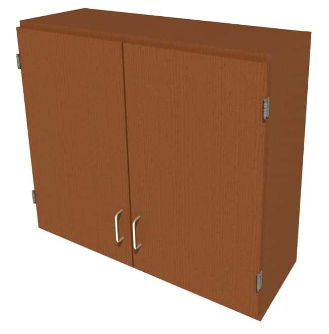 Fisherbrand Wood Wall Cabinet, 36 in. Wide 2 Solid Doors, 36 in. Wide,