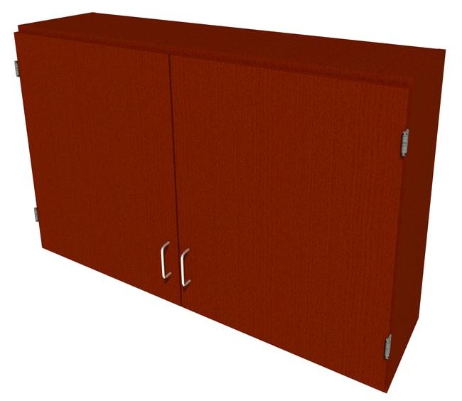 FisherbrandWood Wall Cabinet, 48 in. Wide 2 Solid Doors, 48 in. Wide, Maple,
