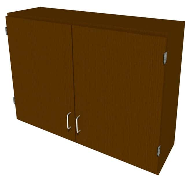 Fisherbrand Wood Wall Cabinet, 42 in. Wide 2 Solid Doors, 42 in. Wide,