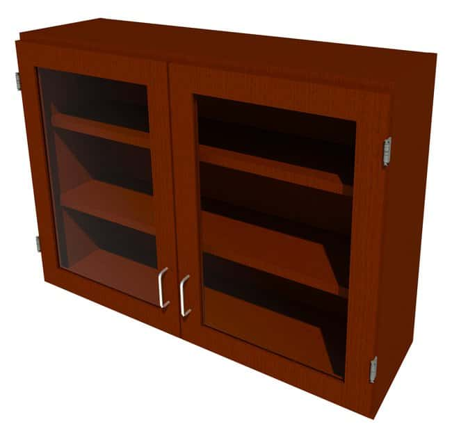 Fisherbrand Wood Wall Cabinet, 42 in. Wide:Furniture, Storage, Casework,