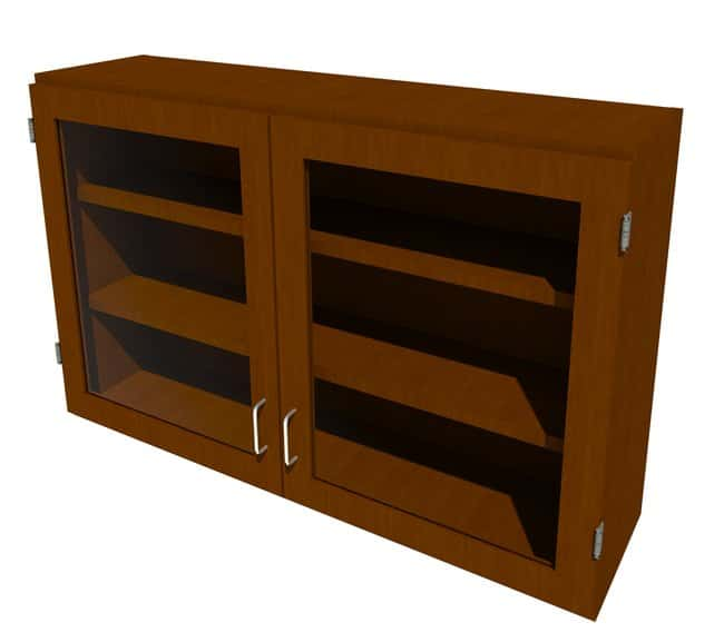 Fisherbrand Wood Wall Cabinet, 48 in. Wide:Furniture, Storage, Casework,