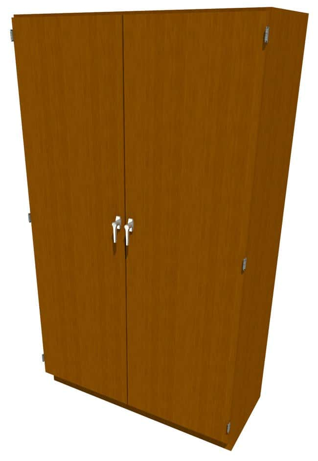 Fisherbrand Wood Tall Cabinet, 48 in. Wide:Furniture, Storage, Casework,