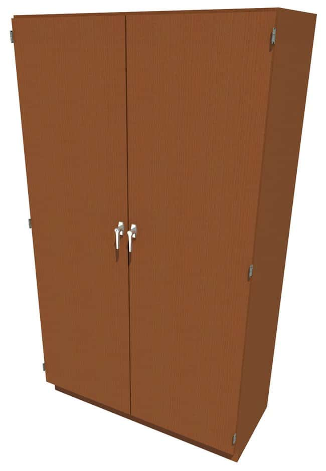Fisherbrand Wood Tall Cabinet, 48 in. Wide 2 Solid Doors, 48 in. Wide,