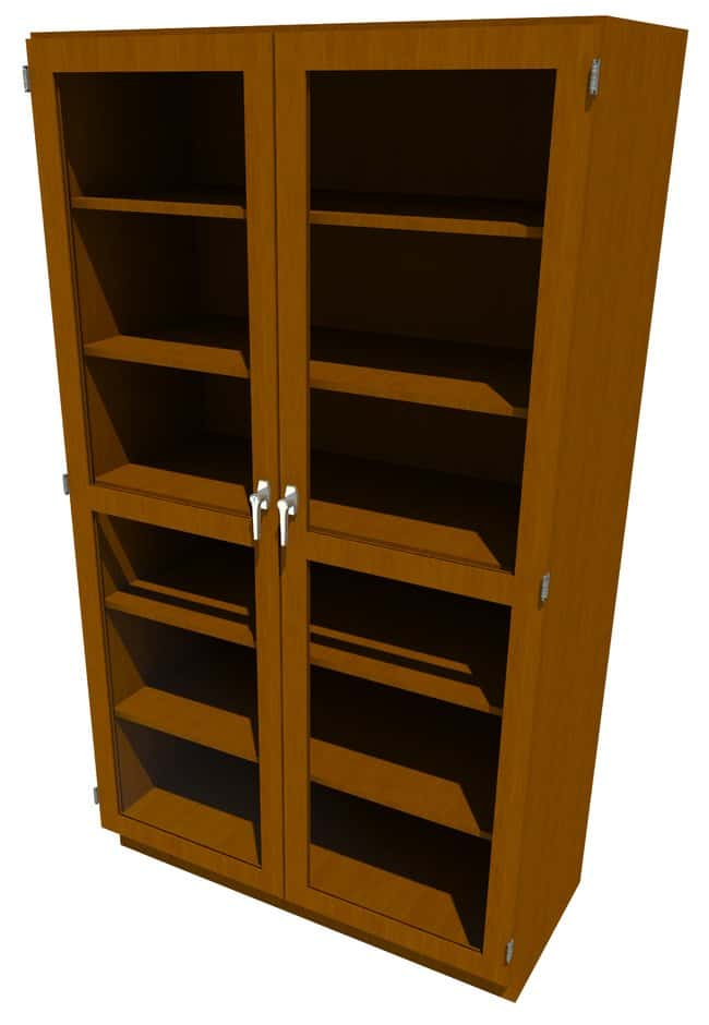 FisherbrandWood Tall Cabinet, 48 in. Wide:Furniture:Storage Cabinets