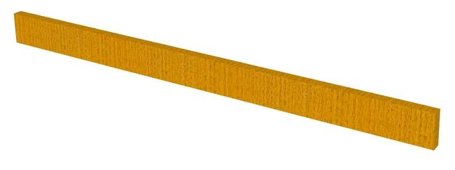 Fisherbrand Wood Apron Face Rail, 36 in. Wide 36 in. Wide, Oak, Honey Stain:Furniture,