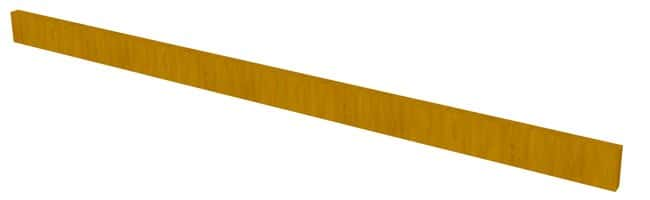 Fisherbrand Wood Apron Face Rail, 48 in. Wide:Furniture, Storage, Casework,