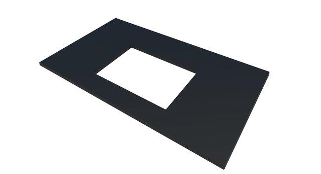 Fisherbrand Sink Cutout for Custom Worksurface :Furniture, Storage, Casework,