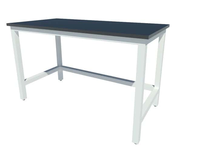 Fisherbrand Fixed Height Heavy Duty Steel Table with Leveling Glides, Epoxy