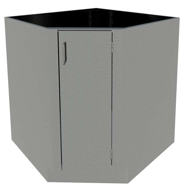 Fisherbrand Standing Height Stainless Steel Corner/Sink Cabinet Standing