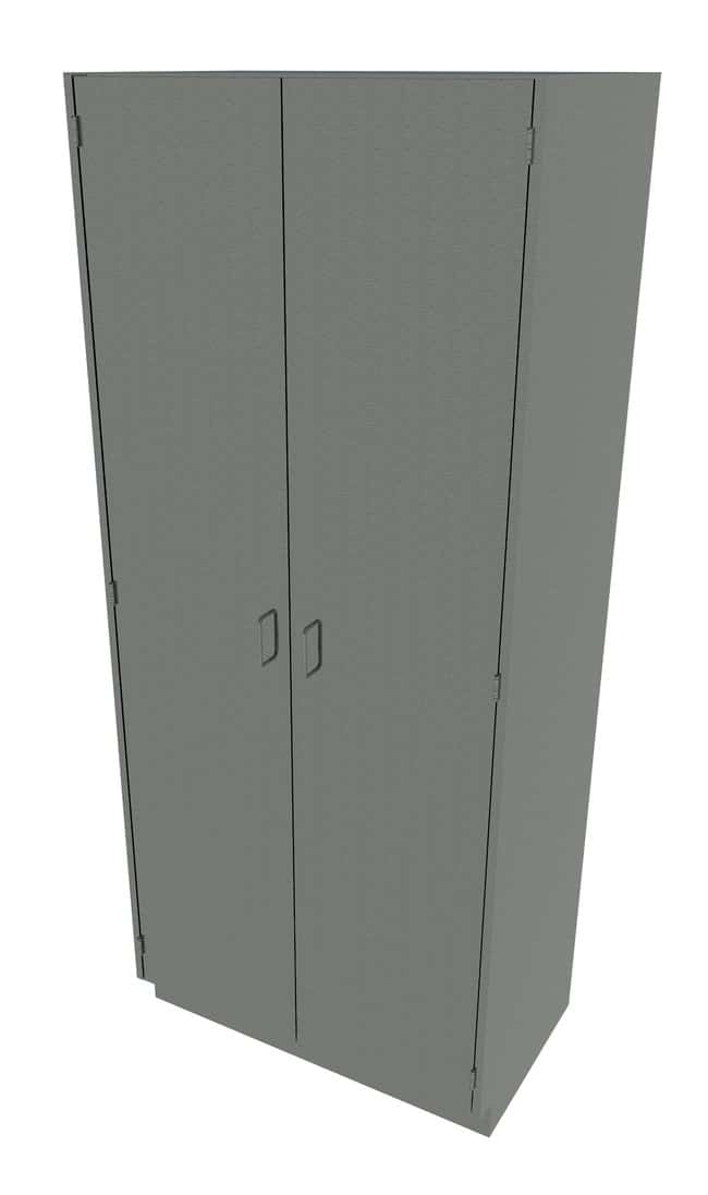 Fisherbrand Stainless Steel Tall Cabinet  Solid Doors, 36 in. Wide:Furniture,