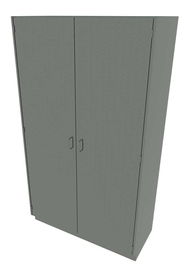 Fisherbrand Stainless Steel Tall Cabinet  Solid Doors, 48 in. Wide:Furniture,