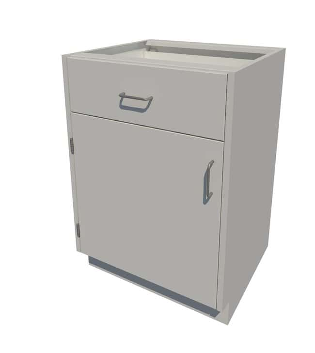 Fisherbrand Standing Height Steel Cabinet with Removable Back 1 Door 1