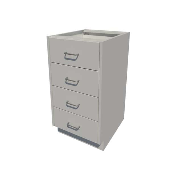 Fisherbrand Standing Height Steel Cabinet 4 Drawer, 18 in. Wide:Furniture,